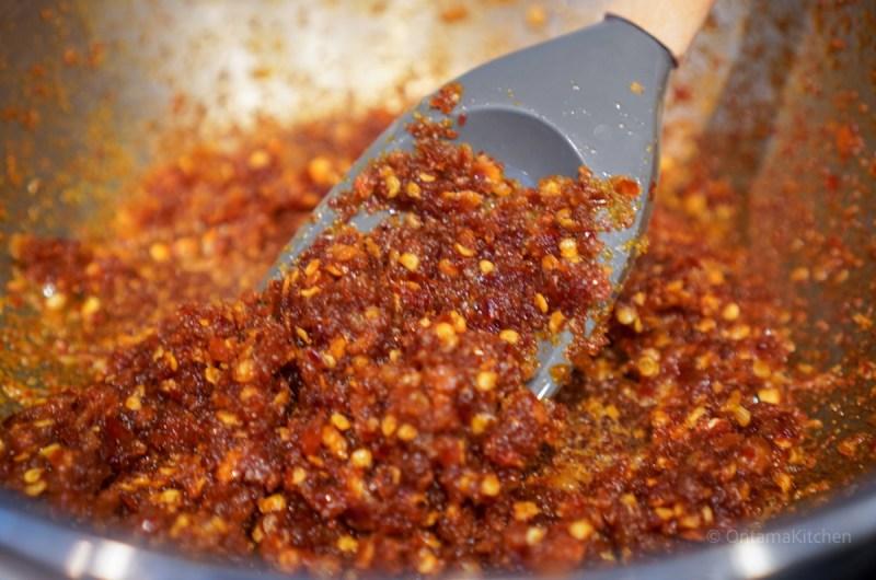 クリスピー プロウン チリ (Crispy Prawn Chili)