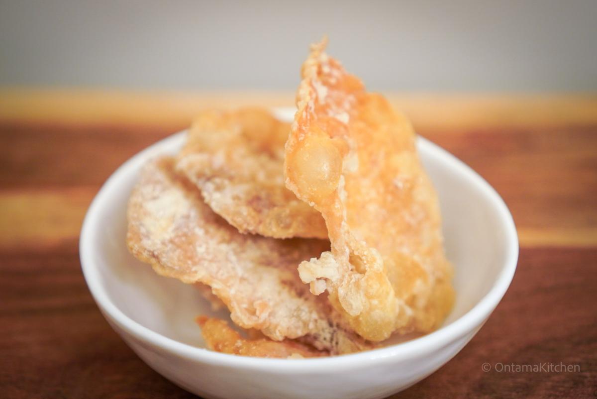 chicken skin chips