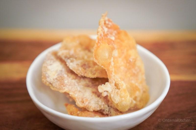 チキンスキンチップス 【ノンフライヤー調理】(Chicken Skin Chips)