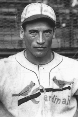 Cardinals right fielder Showboat Fisher in 1930.