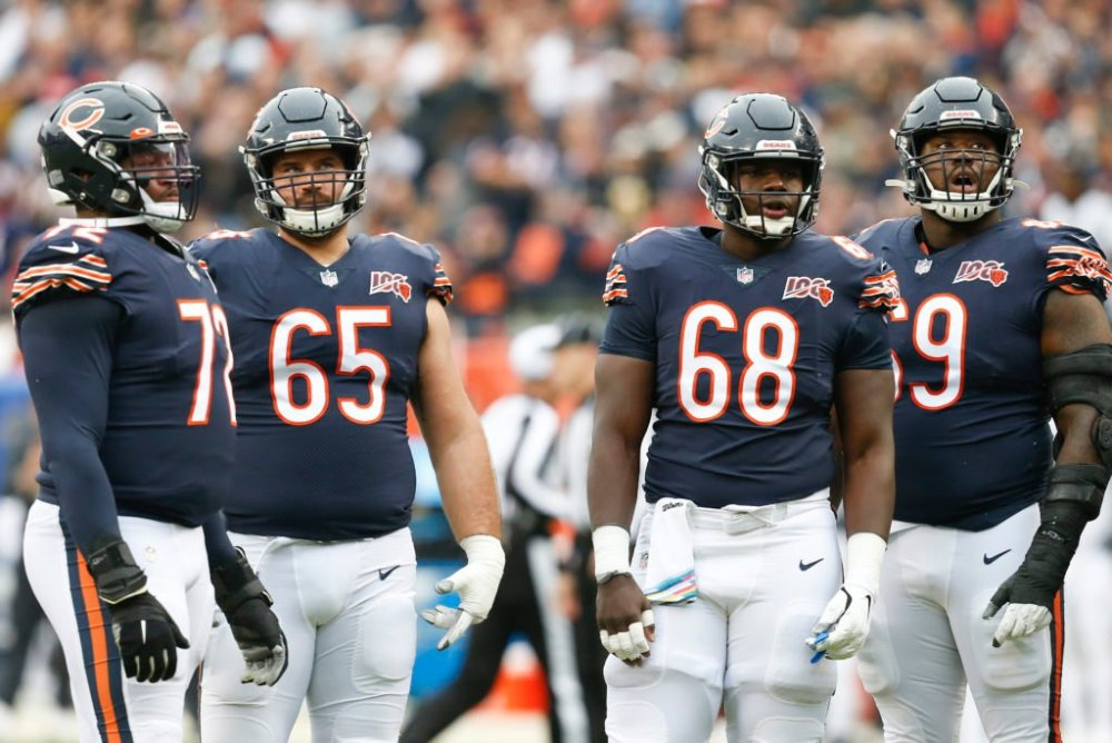 Chicago Bears Offensive Line