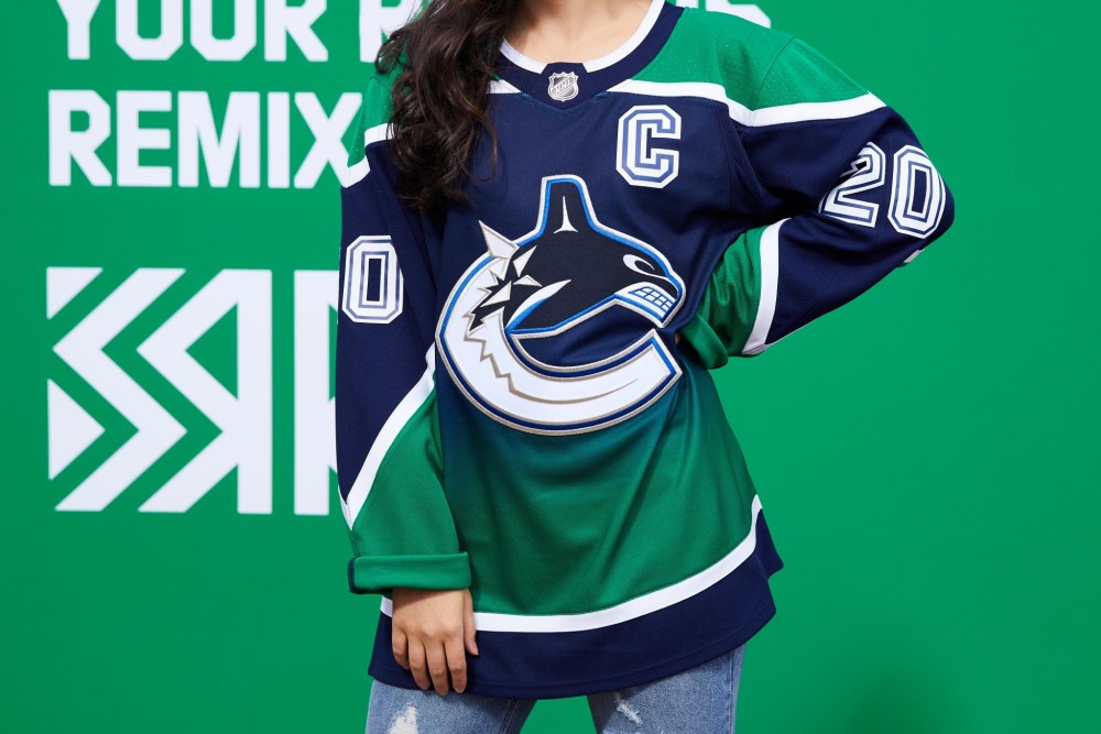 Vancouver Canucks Reverse Retro Jersey