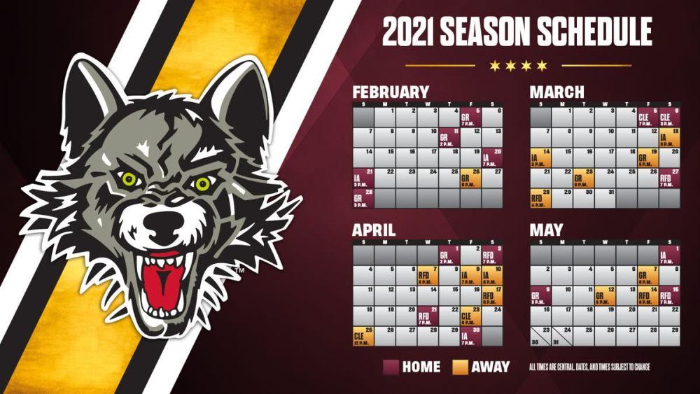 Chicago Wolves Schedule