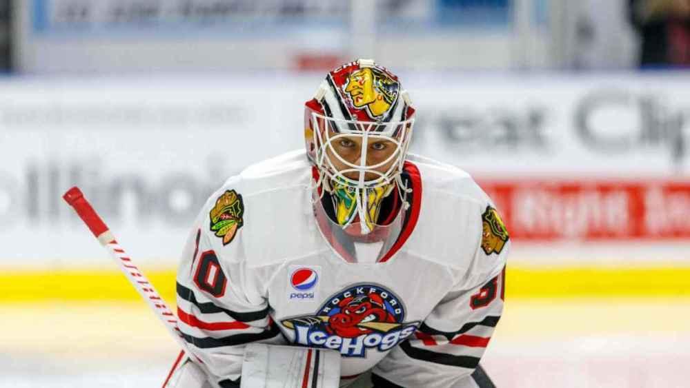 Kevin Lankinen Blackhawks