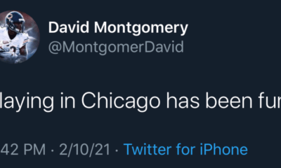 David Montgomery Tweet
