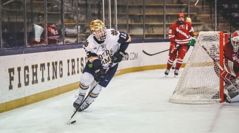 Ryder Rolston Notre Dame Blackhawks