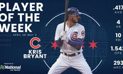 Kris Bryant Player of the Week