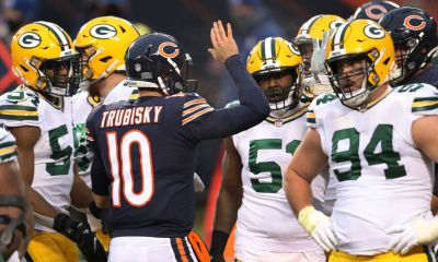 Mitch Trubisky Bears Packers