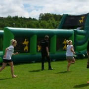 Army Obstacle Knockout run game