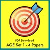 AQE Practice Papers Set 1 PDFs