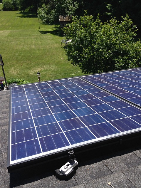 Residential Rooftop Solar Panels System