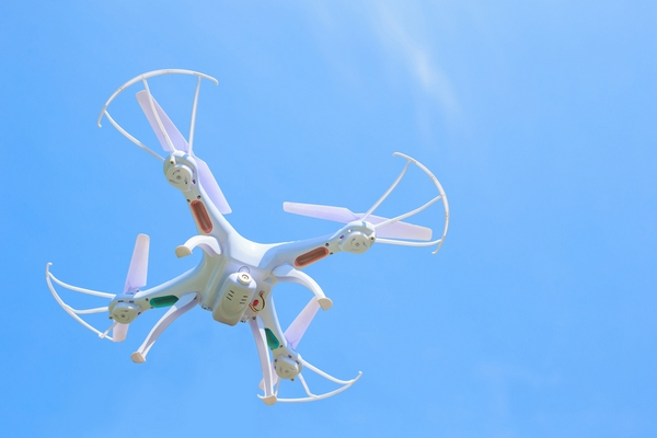 drone fly in the sky, great for your design
