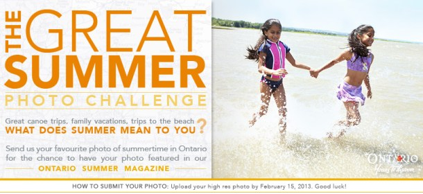 The Great Summer Photo Challenge
