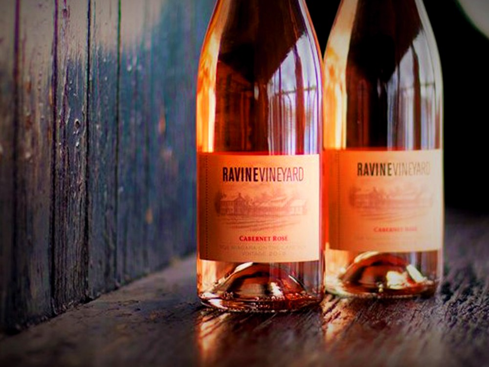 Bottles of wine from Ravine Vineyard Estate Winery