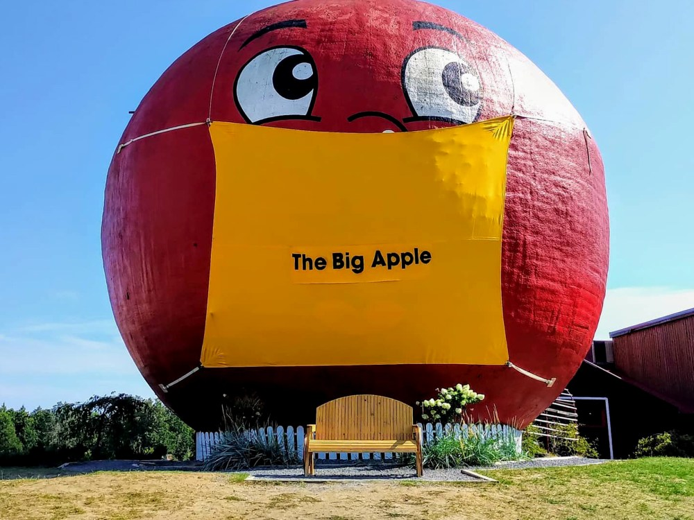 The Big Apple attraction