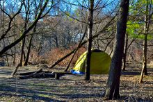 An encampment on the Don River.