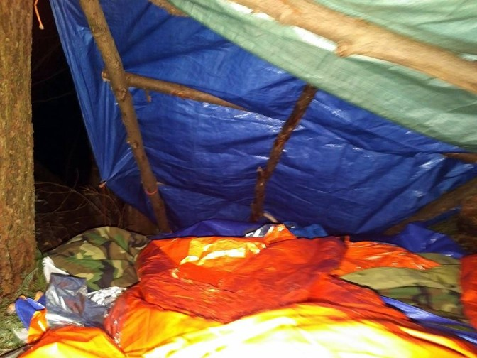 The sleeping accommodations