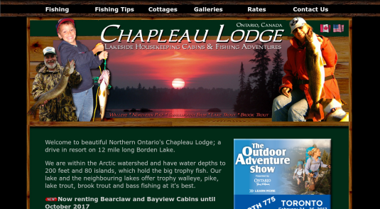 Cottages and Cabins for rent in Chapleau