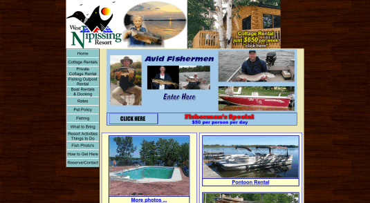 Cottages and Cabins for rent in Lake Nipissing - Lavigne