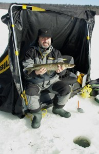 Icing Northern Pike