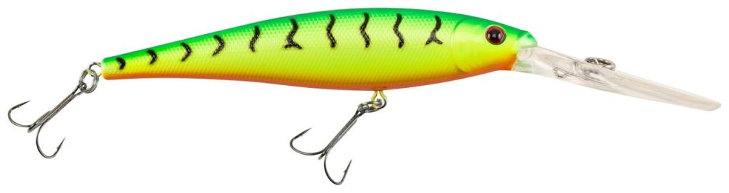 Berkley Flicker Minnows are pro designed and tournament proven. Using the same strict development standards from Flicker Shad, we created a line of minnow baits that dive deeper with maximum flash and tail action. The Flicker Minnow body design, in combination with its impressive dive curve, get you to the fish quicker. The field test results are in -- and the result?  These baits flat out Catch More Fish!