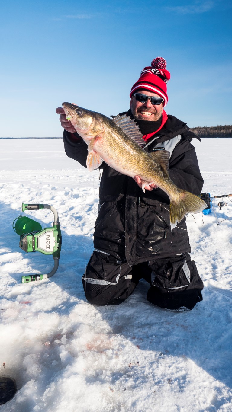 Icing prime time walleyes for Best time to fish for walleye
