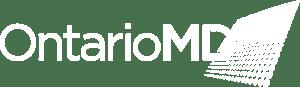 OntarioMD Logo White