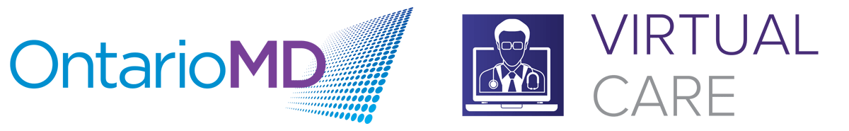 OntarioMD and VirtualCare logo