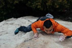 Devil's Glen Winter Climbing