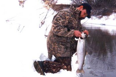 Late Season Steelhead Trout Fishing