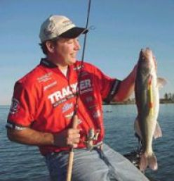 Walleye Fishing in Precarious and Particular Places
