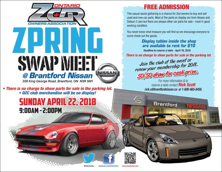 OZC Spring Swap Meet