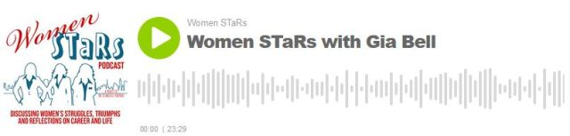 Women Stars Podcast episode with Gia Bell