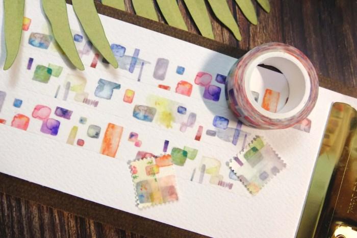 Paint二代 日本和紙紙膠帶 水彩創作