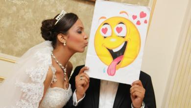 افكار مرحة لصور الزفاف