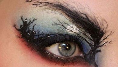 الرسم على العين