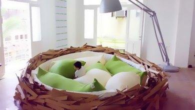 سرير عش العصافير