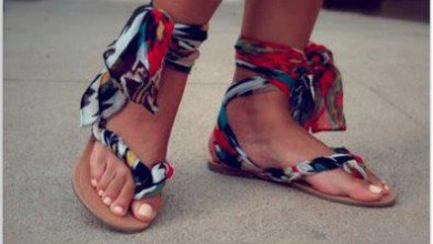 اضيفي المزيد من الحيوية لحذائك بهذه الفكرة البسيطة