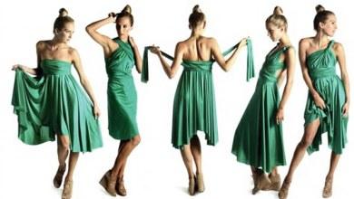 فيديو لفستان يمكن إرتداءه بأكثر من 20 طريقة