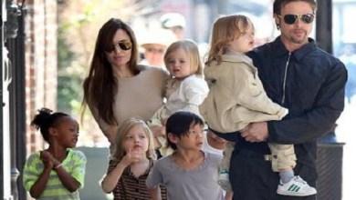 بنت انجلينا جولي وبراد بيت توم بوي :)