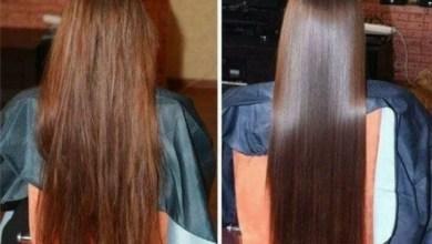 تمليس الشعر