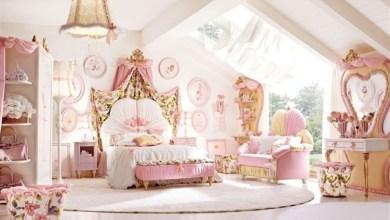 إجعلي إبنتك تعيش في غرفة الإميرات مع هذه الديكورات