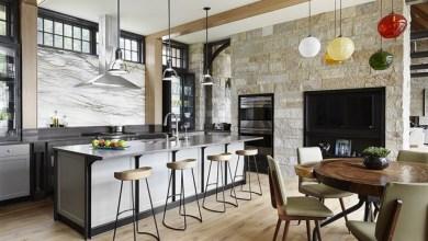 المطبخ وأجمل الديكورات العصرية لجلسات ممتعة مع أفراد الأسرة