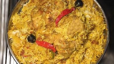 طريقة عمل مدفون الدجاج بالأرز بطريقة سهلة وبطعم لذيذ وشهي