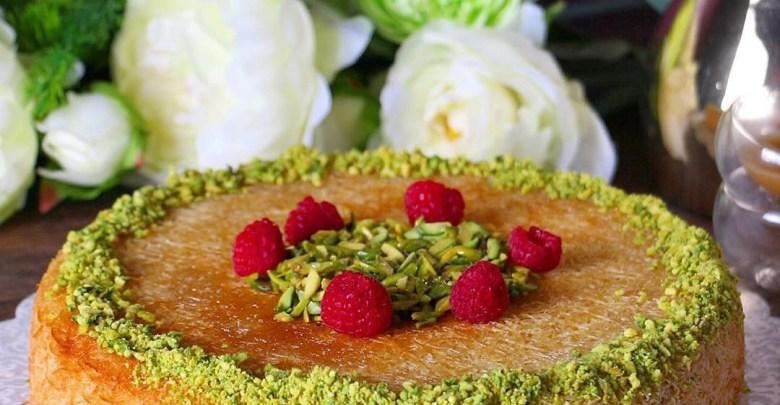 طريقة صنع الكنافة بطريقة بسيطة جديدة وسهلة لطعم شهي ولذيذ