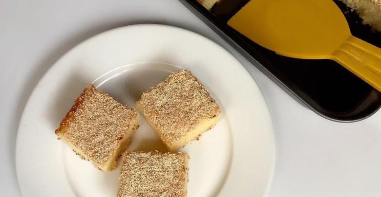 طريقة عمل كيكة الرمل بطريقة سهلة وبسيطة لطعم شهي ولذيذ