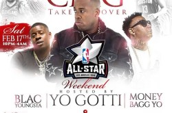 CMG Takeover with Yo Gotti, Blac Youngsta & Money Bagg Yo at 333 Live.