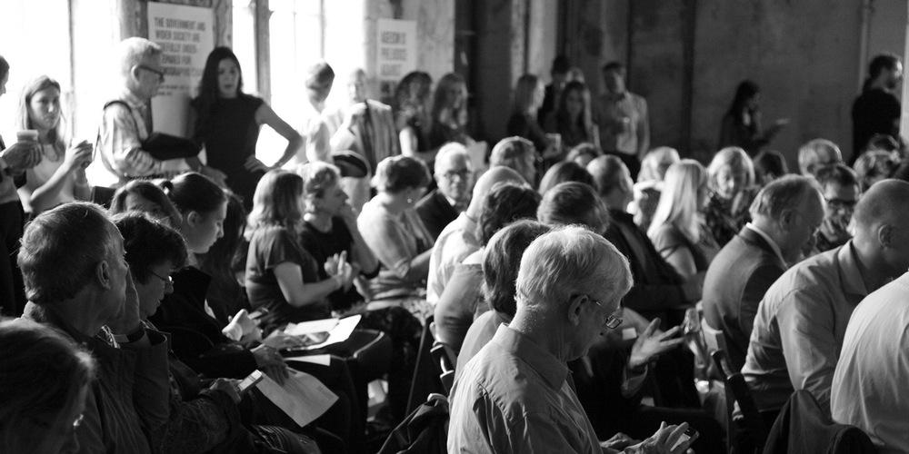 Festival Age Doesn't Matter, en Oxo Bargehouse, Southbank, London, 2016