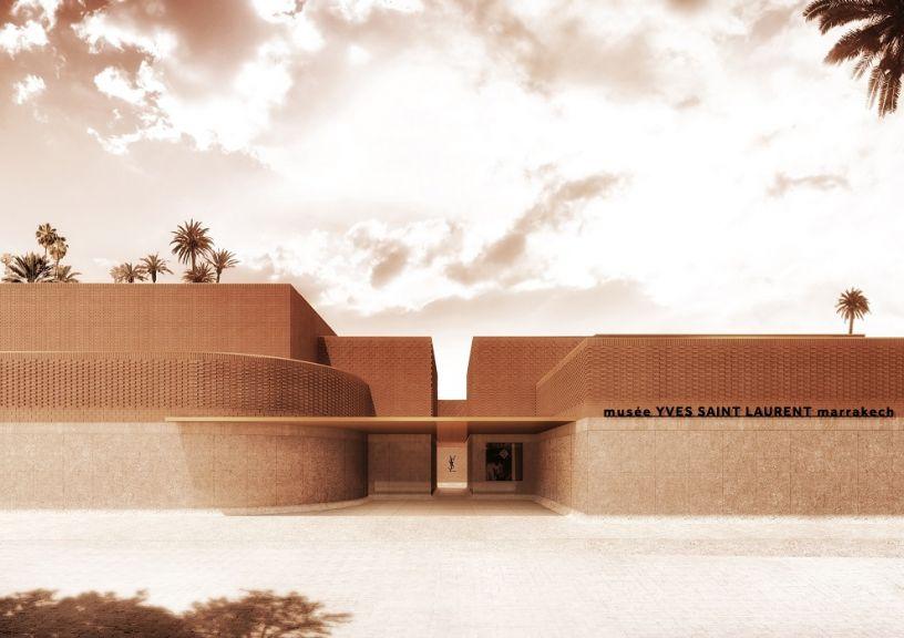 Yves Saint Laurent Museum en Marrakech. Fundación Pierre Bergé – Yves Saint Laurent. Proyectado por Studio KO. Foto: ©Studio KO