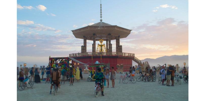 Burning Man 2017. Foto: BLM